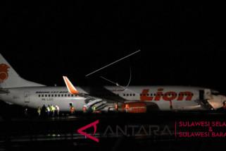 Pesawat Lion Air tergelincir di Bandara Gorontalo