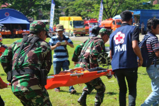 BPBD-PMI Toraja Utara apel Kesiapsiagaan Bencana 2018