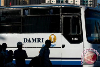 Damri kerahkan 12 bus angkut Jamaah haji