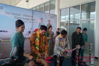 Peresmian rute Makassar-Selayar