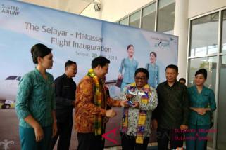 Garuda buka rute Makassar-Selayar dukung sektor pariwisata