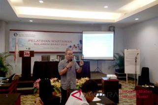 BI Sulbar gelar pelatihan penulisan berita ekonomi
