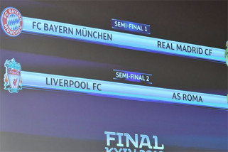 Semi Final Liga Champion, Madrid vs Bayern, Liverpool vs Roma
