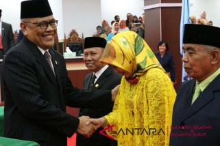 Tiga legislator PAW DPRD Sulsel dilantik