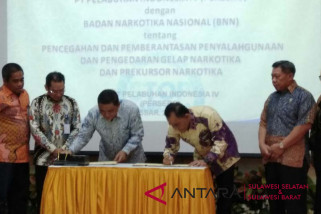 Pelindo IV teken MoU dengan BNN