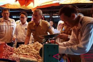 Satgas pangan sidak ke pasar tradisional