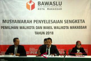 Panwaslu Makassar perintahkan KPU kembalikan status pencalonan