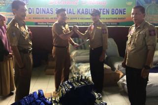 Pemprov salurkan bantuan untuk korban banjir Bone