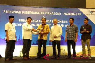 Garuda resmi PP Makassar-Madinah