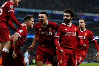 Liverpool tantang Madrid di final liga Champions 2018