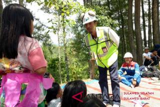 Pertamina tebarkan semangat belajar di pelosok Toraja