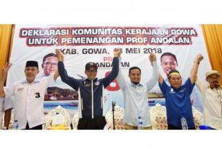 Amunisi kandidat NA-ASS bertambah di Kabupaten Gowa