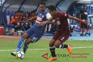 PSM Makassar tahan Arema FC 1-1