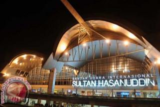 Penumpang di Bandara Sultan Hasanuddin 38.253 orang