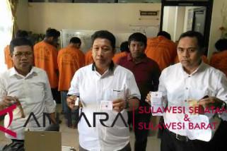 Polrestabes Makassar amankan delapan pengedar narkoba