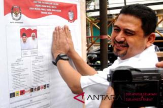 Pasangan Pilkada Makassar Appi-Cicu dikalahkan kolom kosong
