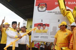 Kampanye terbuka pasangan NH-Aziz berakhir di Makassar