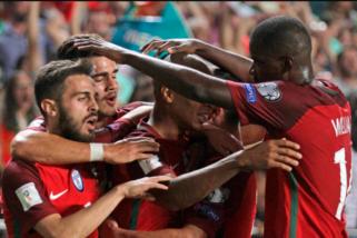 Pertarungan panas Portugal vs Spanyol