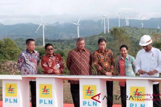 Presiden tandatangani prasasti enam pembangkit  listrik
