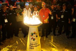 Telkomsel sukseskan obor Asian Games di Bulukumba