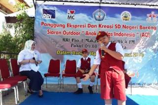 RRI Makassar siarkan panggung ekspresi hari anak