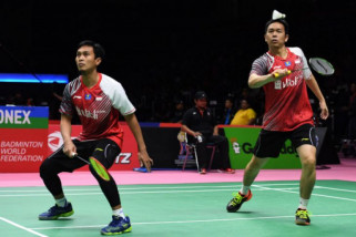 Ahsan/Hendra juara Singapura Terbuka