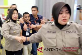 Empat orang diamankan saat pleno KPU Makassar