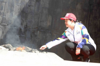 Menko PMK Puan Maharani resmikan pengambilan api Mrapen