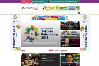 LKBN Antara luncurkan laman khusus Asian Games 2018