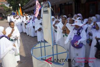 Bupati Mamuju lepas JCH  ke Embarkasi Makassar