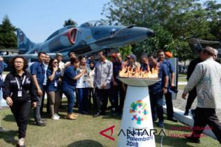 Obor Asian Games singgahi Pantai Bira-Losari