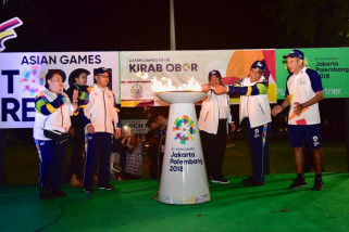Gubernur: Asian Games hilangkan sekat akibat pilkada