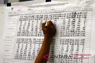 KPU Makassar selesaikan rekapitulasi pilgub sulsel