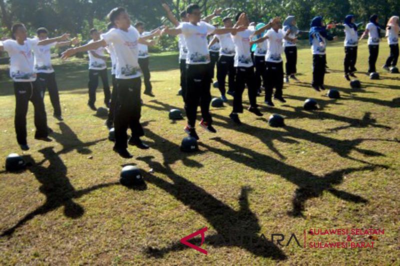 BUMN Hadir - Latihan dasar militer SMN