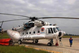 10 helikopter dikerahkan padamkan karhutla di Kalbar