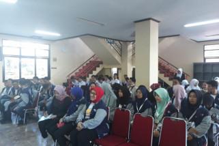 BUMN Hadir - Peserta SMN kunjungi SMA unggulan Gowa