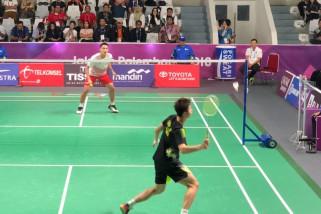 Asian Games 2018 - Jonathan Christie singkirkan unggulan pertama asal China