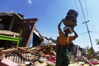 Korban meninggal gempa Lombok bertambah 387 orang