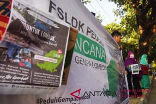 Aksi kemanusiaan korban gempa Lombok
