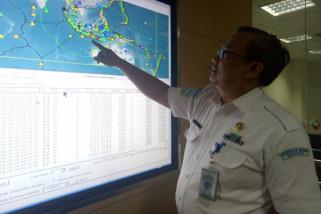 Gempa tektonik 5,4 SR guncang Bali