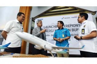 Pertamina gandeng Mandiri dan Garuda sinergikan bisnis