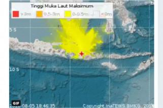 Gempa susulan 230 kali guncang Pulau Lombok