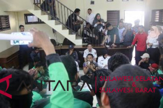 DPRD Sulsel sikapi aspirasi pengemudi Go-Jek Makassar