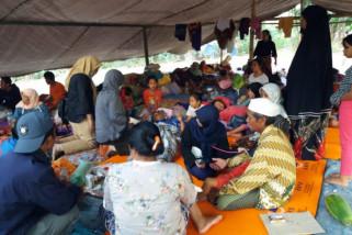 Polda Sulbar bantu korban gempa Lombok