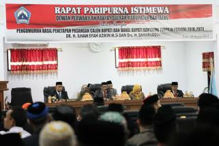 DPRD tetapkan Bupati dan Wakil Bupati Bantaeng periode 2018-2023
