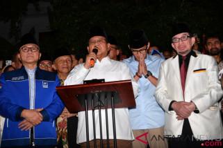 Prabowo deklarasikan Sandiaga Uno sebagai capresnya