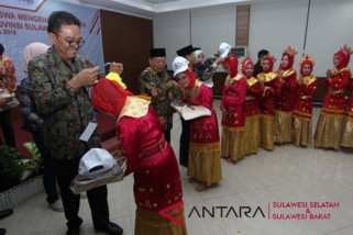 BUMN hadir - Bupati Mamuju sambut 26 siswa asal Bengkulu