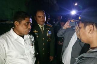 Penjabat Gubernur Sulsel kunjungi korban kebakaran Panampu
