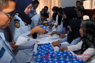 BNNP Sulsel periksa urine petugas Lapas Makassar