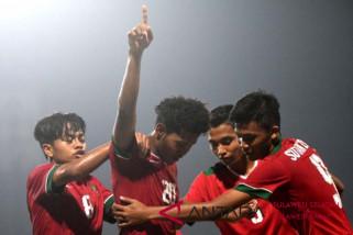Indonesia lawan Malaysia di semifinal AFF U-16